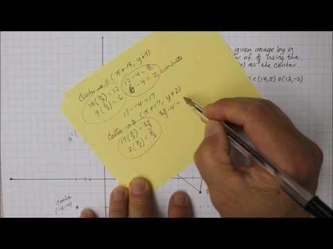 204M8 Part 2  Scale Factor with Non-Origin Center