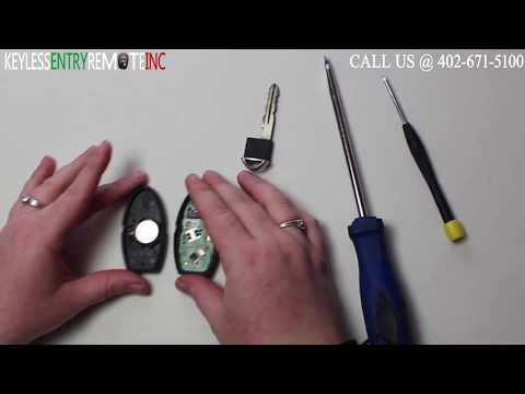 How To Replace A Nissan Altima Key Fob Battery 2007 - 2012