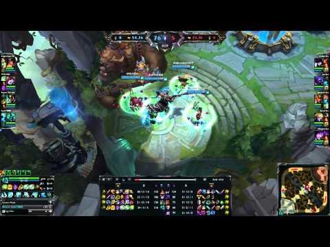 League of legends : Hecarim 5000 movement speed
