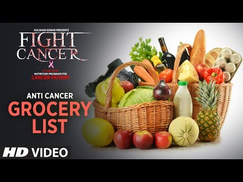 FIGHT CANCER- Anti Cancer Grocery List | Nutrition Plan Designed & Created by GURU MANN