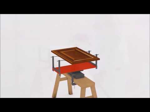 Rotating Spray Rack