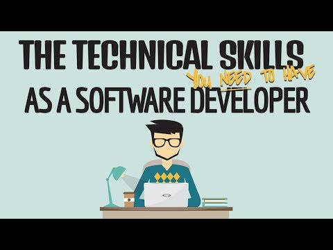 The Technical Skills You NEED To Have As A DEVELOPER!