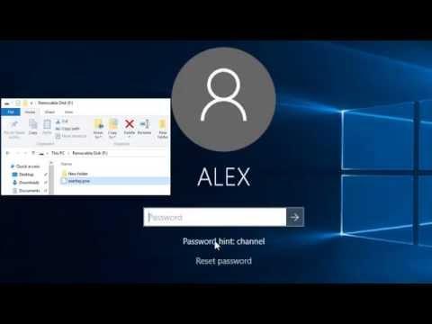 Cách tạo mật khẩu, khôi phục lại mật khẩu Windows 10 - Local account