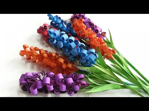How To Create Pretty Paper Hyacinth Flowers - DIY Crafts Tutorial - Guidecentral
