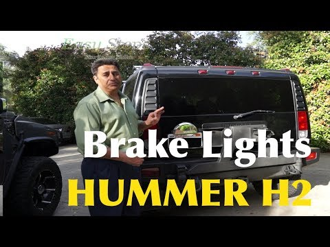 How To Fix Brake Lights Not Working | How To Replace Blown Fuse | HUMMER