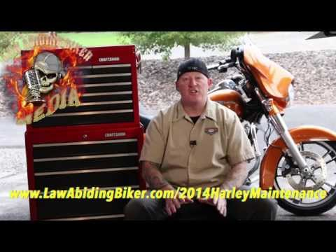How to do routine maintenance oil change and safety check on a Harley Davidson-NEW
