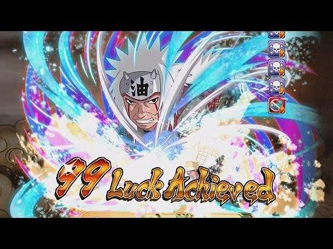 JIRAIYA 99 LUCK! My First 99! - Naruto Shippuden Ultimate Ninja Blazing
