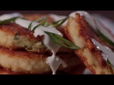 How to Make Leftover Mashed Potato Pancakes! | The Chew
