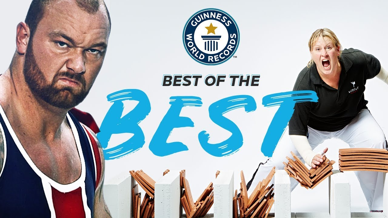 The 20 Strongest Records in the World! - GWR Best of the Best!