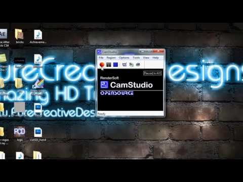 Best free HD computer screen recorder and audio capture (CamStudio)