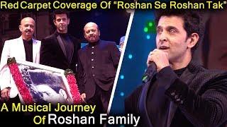 Full Uncut  Hrithik Roshan And Family   Roshan Se Roshan Tak   Musical Tribute To Roshan Family