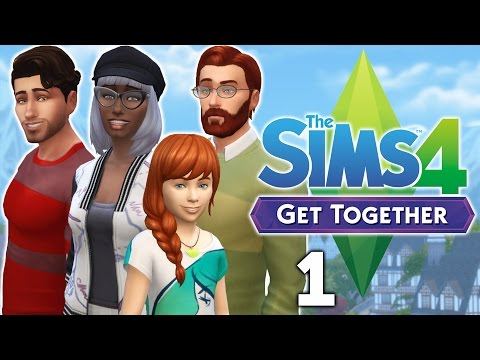 Let's Play The Sims 4 Get Together - Part 1 - Mae's Babes!