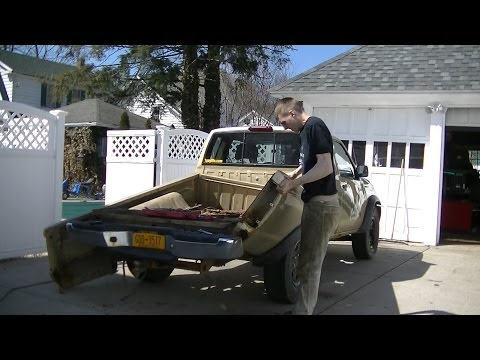 Truck Bed Tear Down