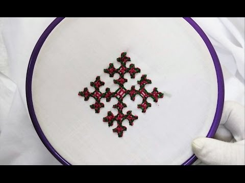 Hand Embroidery - Gujrati Stitch