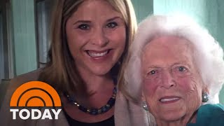 Jenna Bush Hager Shares Emotional Letter To Grandmother Barbara Bush | TODAY