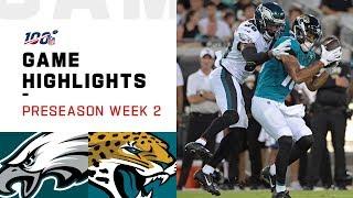 Eagles vs. Jaguars Preseason Week 2 Highlights | NFL 2019