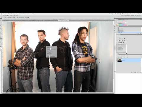 How to Make a Magazine Cover in Photoshop - Vector Masking