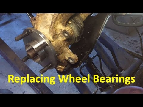 Replacing Wheel Bearings On Ford Focus