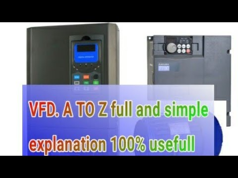 vfd simple explaination /vfd control diagram /vfd working /variable frequency drive