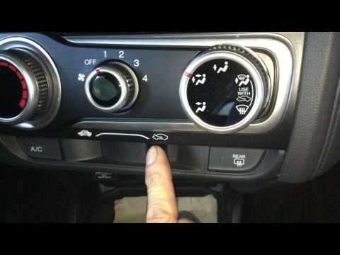 2015 Honda Fit glove box and air filter removal