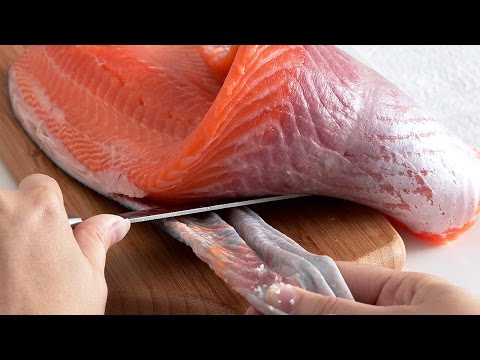 How to Fillet, Portion & Skin Salmon