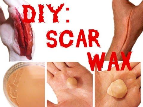 Scar Wax Recipe : DIY Scar Wax SFX Makeup