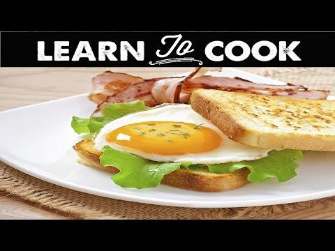 How to Make a Fried Egg Sandwich