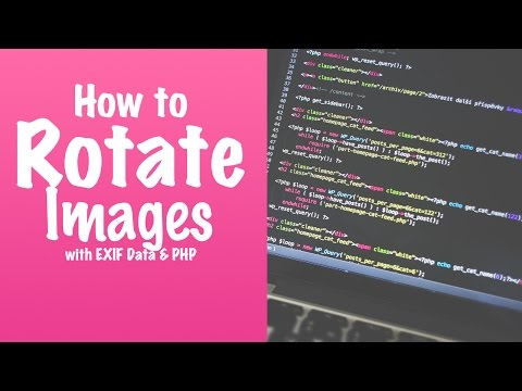 Rotate Images using EXIF Data and PHP