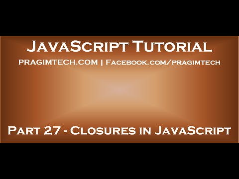 Closures in JavaScript