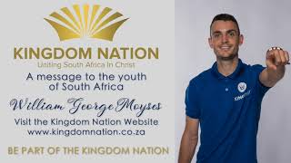 William Moyses Message To The Youth Of South Africa