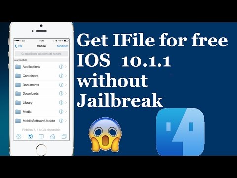 Get iFile for free  on iphone without jailbreak on iOS 9 & 10.1.1 100% Working DEC/2016