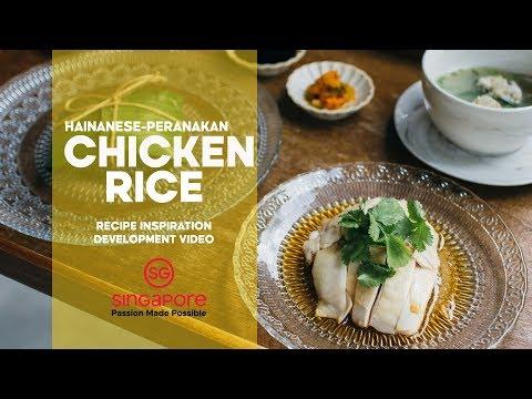Hainanese-Peranakan Chicken Rice   Development Video   Not A Recipe!