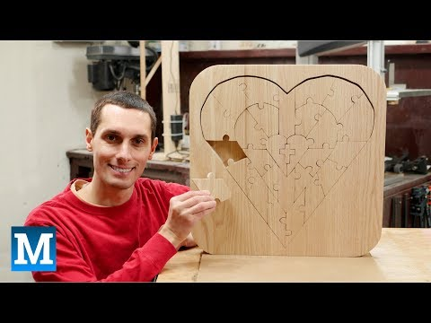 How to Make a Heart-shaped Puzzle