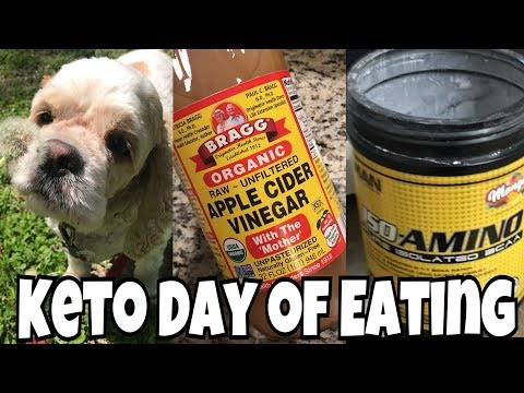 Keto Day of Eating | Dairy Free Update | Apple Cider Vinegar Drink?