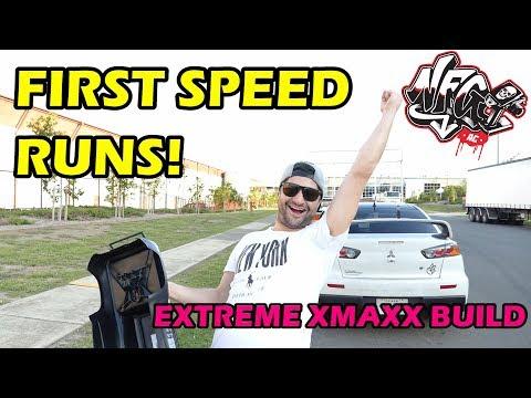 EXTREME TRAXXAS XMAXX BUILD - PART 3.1 - First Speed Runs!