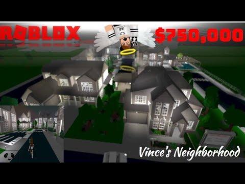 $750k+ NEIGHBORHOOD VINCE | Subscriber Tours (Roblox Bloxburg)