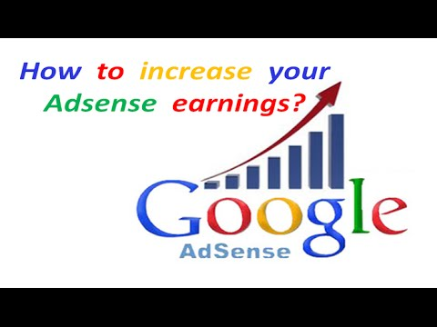 HOW TO INCREASE YOUR ADSENSE REVENUE