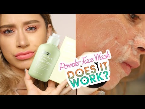 BYWISHTREND GREEN TEA ENZYME POWDER WASH REVIEW
