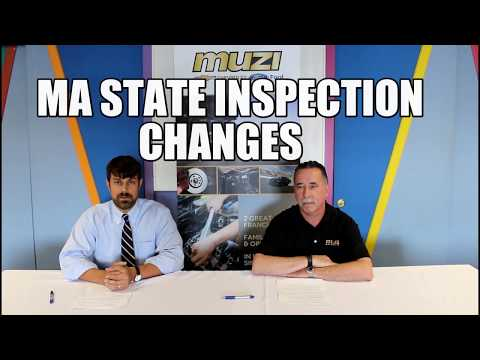 Changes To MA State Inspections - Muzi Minute Episode #2