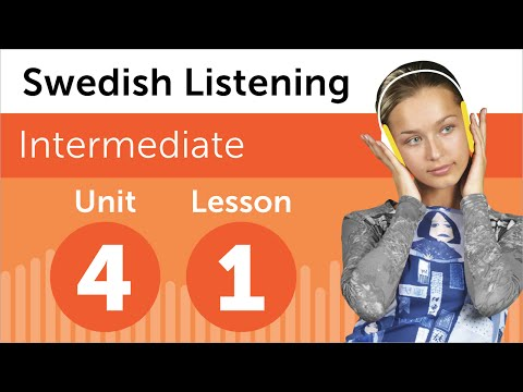 Swedish Listening Practice - Organizing a Meeting in Sweden