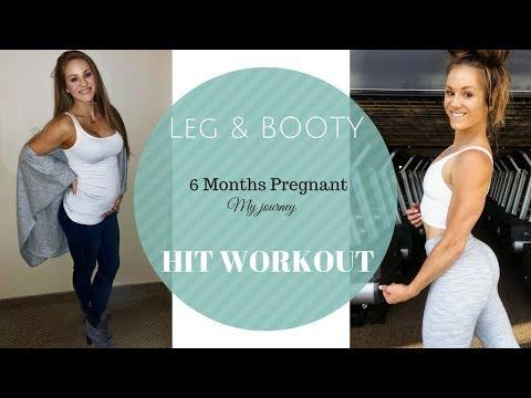 Leg & BOOTY| Peachy Pregnancy Workout! Grow & Tone