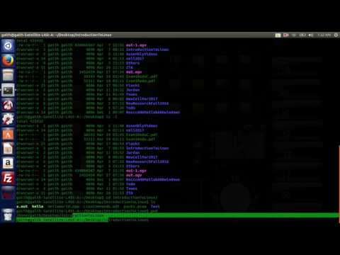 Linux Commands Introduction, Compiling and running C, C++ code , scp, ssh