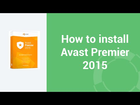 How to install Avast Premier 2015