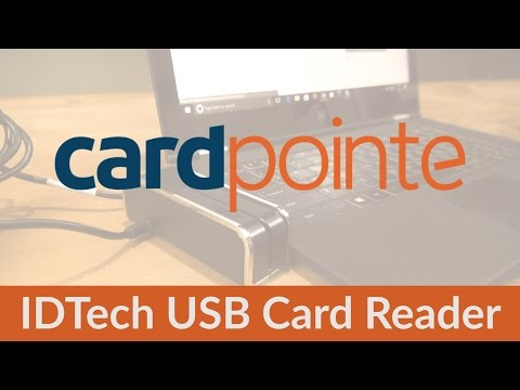 CardPointe Virtual Terminal - Using the IDTech USB Card Reader