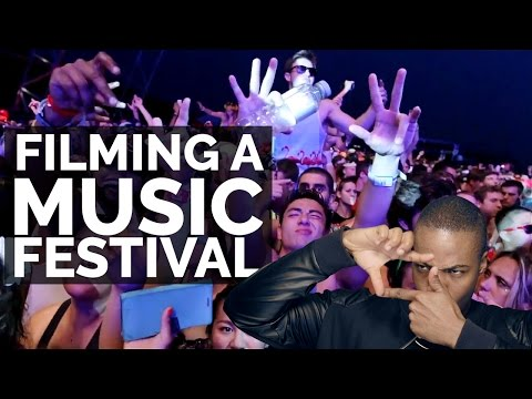 How To Film A Music Festival