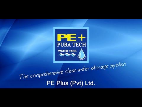 PE+ Pura Tech Commercial (The Comprehensive Clean Water Storage System)