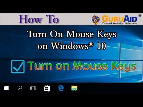 How to Turn On Mouse Keys on Windows® 10 - GuruAid