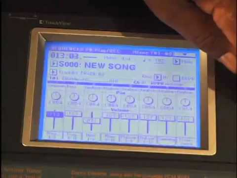 Korg Triton Extreme DVD 2: add sounds to sample loop