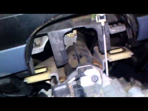 How to drop Steering Column on a Ford Ranger