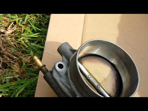 2002 chevy trailblazer throttle body cleaning